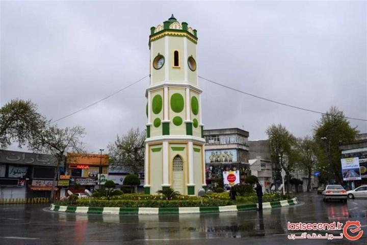 معرفی شهر ساری