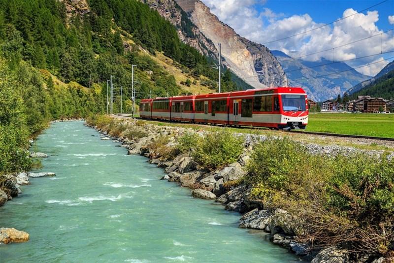 سفر با قطار در اروپا