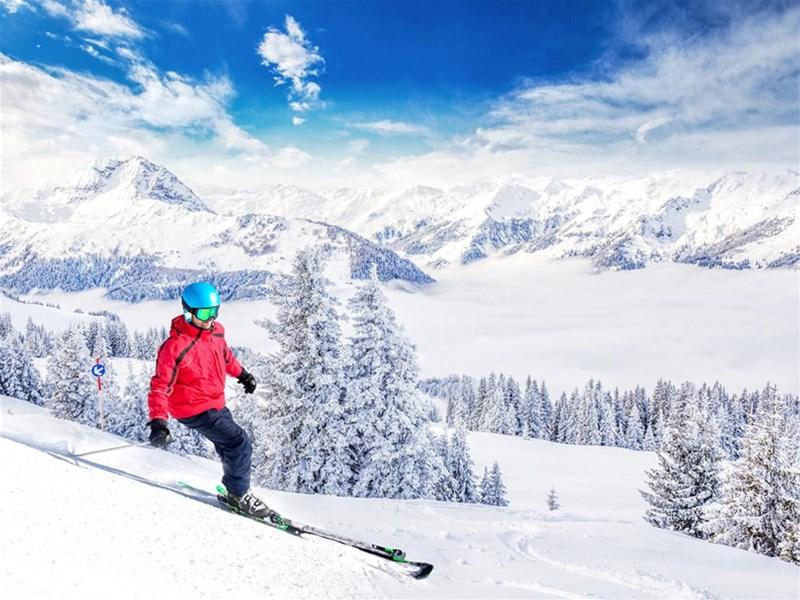 بهترین زمان برای رفتن به اسکی در اروپا