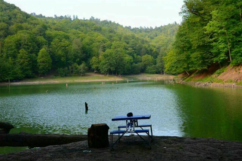 دریاچه چورت؛ ساری