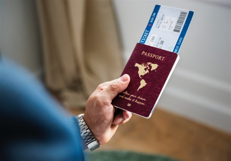 گم کردن پاسپورت