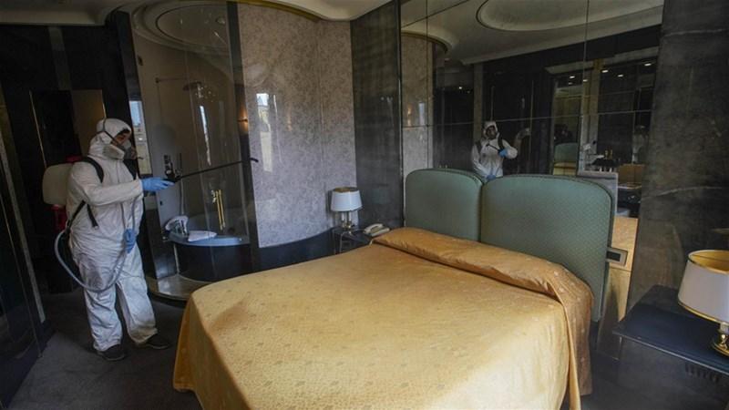هتل ها در زمان کرونا